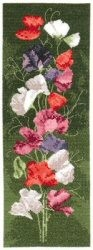 Sweet Pea Panel - Evenweave -  Cross Stitch Kit