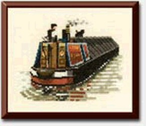 Cross Stitch Books Inland Waterways Book