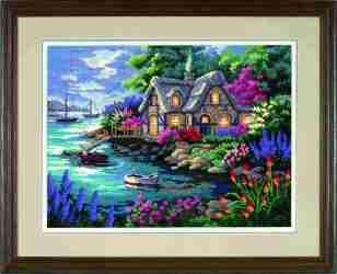 Cottage Cove -  Tapestry Kit