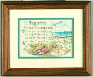 Dimensions He Spoke Cross Stitch Kit