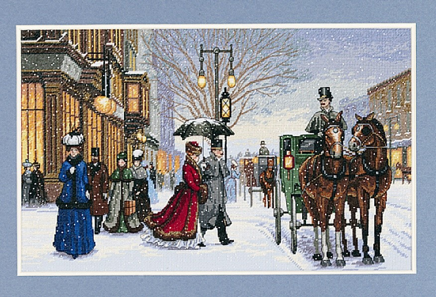 Gracious Era -  Christmas Cross Stitch Kit