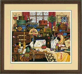 Dimensions Maggie the Messmaker Cross Stitch Kit