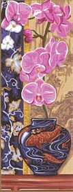 Orchid -  Tapestry Canvas