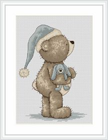 Time for Bed -  Cross Stitch Kit