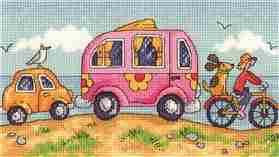 Are We There Yet - Evenweave -  Cross Stitch Kit