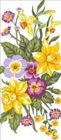 Daffodils -  Tapestry Canvas
