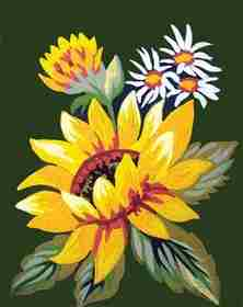 Sunflower -  Tapestry Canvas