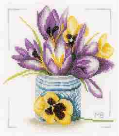 Crocus -  Cross Stitch Kit