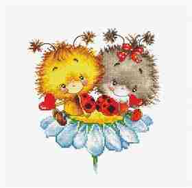 Ladybugs -  Cross Stitch Kit