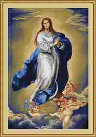 Immaculate Conception -  Cross Stitch Kit