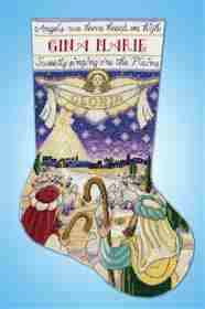 Nativity Stocking -  Christmas Cross Stitch Kit