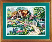 Dimensions Cottage Retreat Tapestry Kit