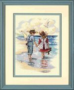 Dimensions Holding Hands Cross Stitch Kit