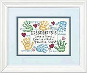 Dimensions Grandparents Touch A Heart Cross Stitch Kit