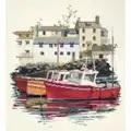 Derwentwater Designs Fishing Village Cross Stitch Kit