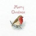 Derwentwater Designs Snow Robin Christmas Card Making Cross Stitch Kit