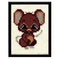 Pako Mouse Cross Stitch Kit