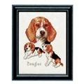 Pako Beagles Cross Stitch Kit