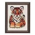 Pako Tiger Cub Cross Stitch Kit