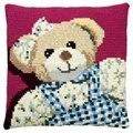 Pako Girl Teddy Cross Stitch Kit