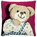Pako Boy Teddy Cross Stitch Kit