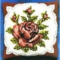 Pako Single Red Rose Cross Stitch Kit