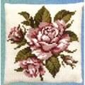Pako Pink Rose Cross Stitch Kit