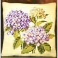 Pako Hydrangeas Floral Cross Stitch Kit