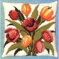 Pako Tulips Floral Cross Stitch Kit