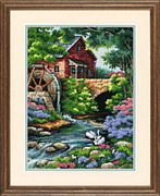 Dimensions Old Mill Cottage Tapestry Kit