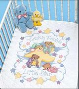 Dimensions Twinkle Twinkle Quilt Cross Stitch Kit