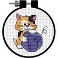 Dimensions Cute Kitty Cross Stitch