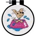 Dimensions Perky Puppy Cross Stitch Kit