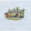 Derwentwater Designs Rose Cottage (Aida) Cross Stitch Kit