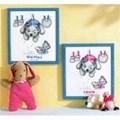 Vervaco Baby Laundry Birth Sampler Cross Stitch Kit