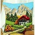 Vervaco Mountain Scene Cross Stitch Kit