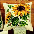 Vervaco Sunflower Cross Stitch Kit