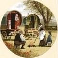 Heritage Gypsy Caravans - Aida Cross Stitch Kit