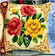 Vervaco Mixed Roses Cross Stitch Kit