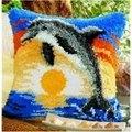 Vervaco Dolphin Cushion Latch Hook