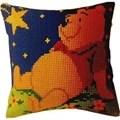 Vervaco Winnie at Night Cushion Cross Stitch Kit