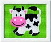 Vervaco Cow Tapestry Canvas