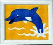 Vervaco Dolphin Tapestry Canvas