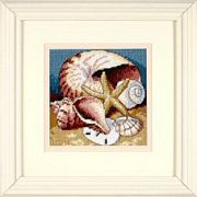 Dimensions Shell Collage Tapestry Kit