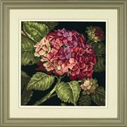 Dimensions Hydrangea Bloom Floral Tapestry Kit