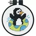 Dimensions Playful Penguin Cross Stitch Kit