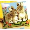 Vervaco Rabbit Friends Cross Stitch Kit