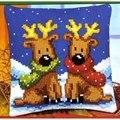 Vervaco Reindeer Twins Christmas Cross Stitch Kit