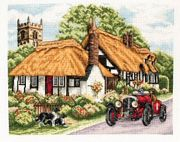 Anchor Village of Welford Cross Stitch Kit