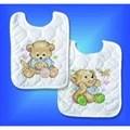 Design Works Crafts Baby Bears Bibs (2) Cross Stitch Kit